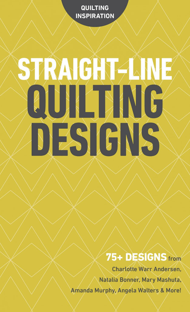 Quilting Inspiration - Straight Line Quilting Designs