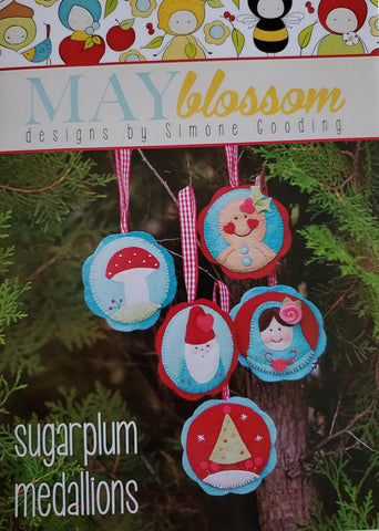 Sugarplum Medallions by Simone Gooding for May Blossom Designs