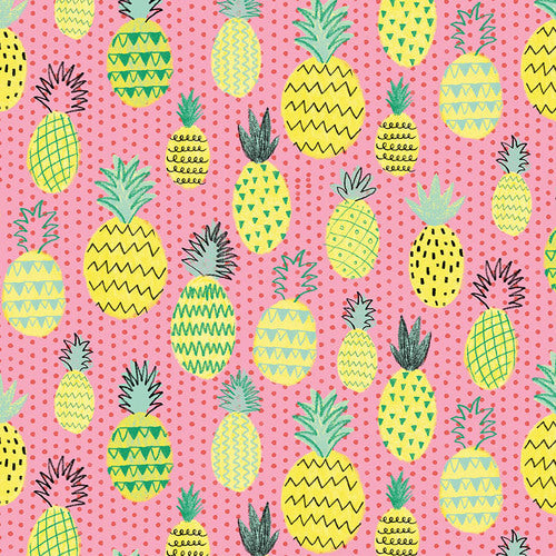 Summerlicious by Lucie Crovatto - Pink Pineapples