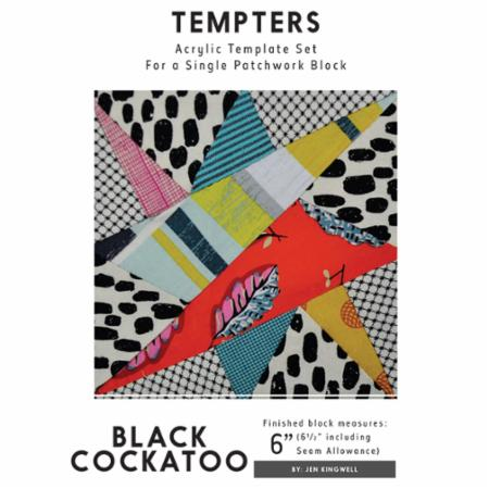 Tempters - Black Cockatoo by Jen Kingwell