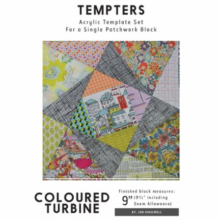 Tempters - Coloured Turbine by Jen Kingwell