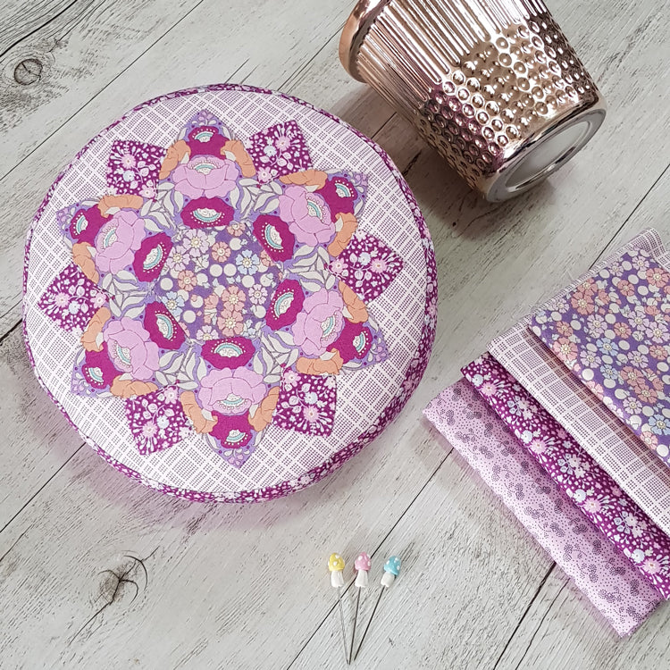 Tenderness Pincushion Kit by Sharon Burgess for Lilabelle Lane Creations