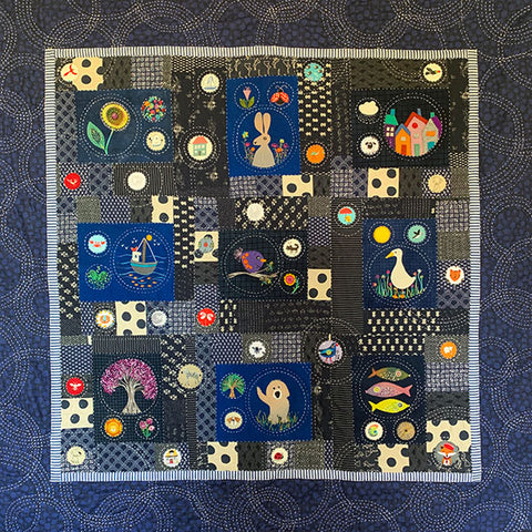 Thought Bubbles Quilt Pattern by Wendy Williams