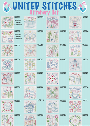 United Stitches Individual Mini Packages