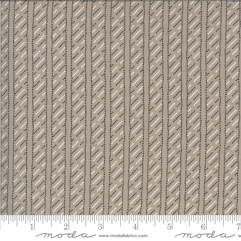 Winkipop by Jen Kingwell for Moda Fabrics - 18197 18 Line in the Sand in Stone