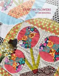 Bring Me Flowers Quilt Pattern designed by Jen Kingwell