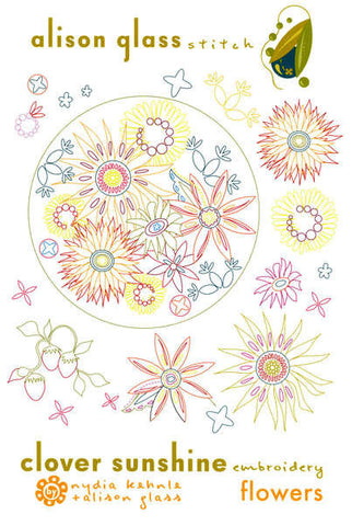 Clover Sunshine Embroidery - Flowers