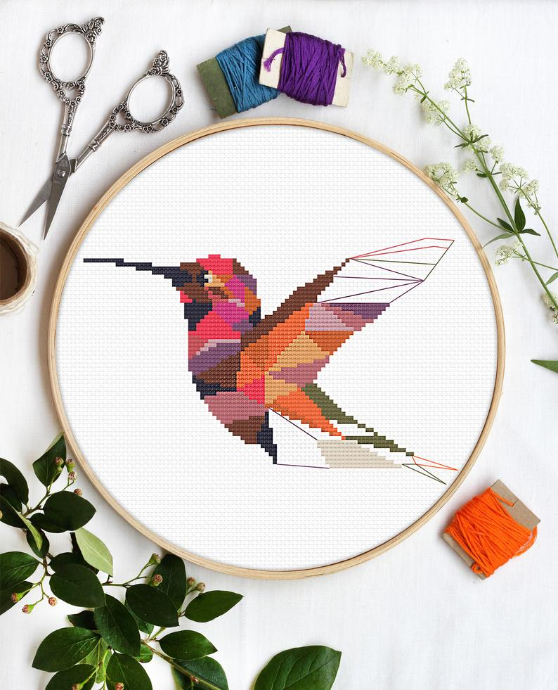 Pink Hummingbird by Galaborn - PDF Download