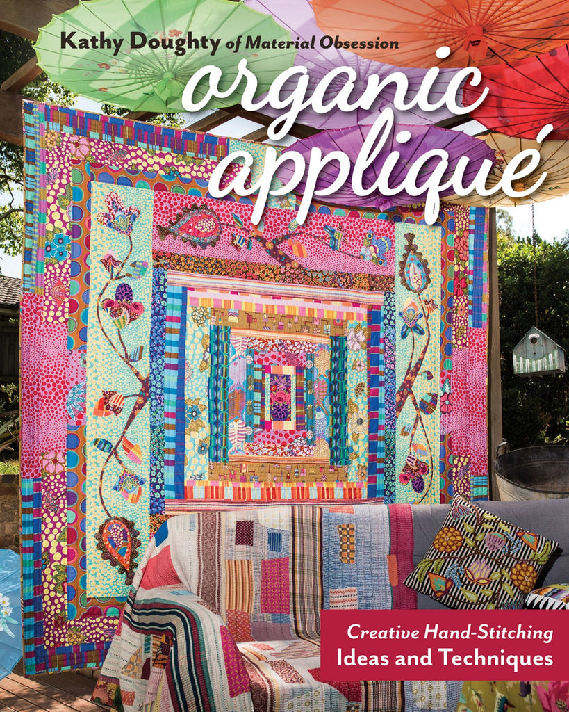 Organic Applique by Kathy Doughty