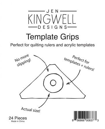 Template Grips - pack of 24 - by Jen Kingwell Designs