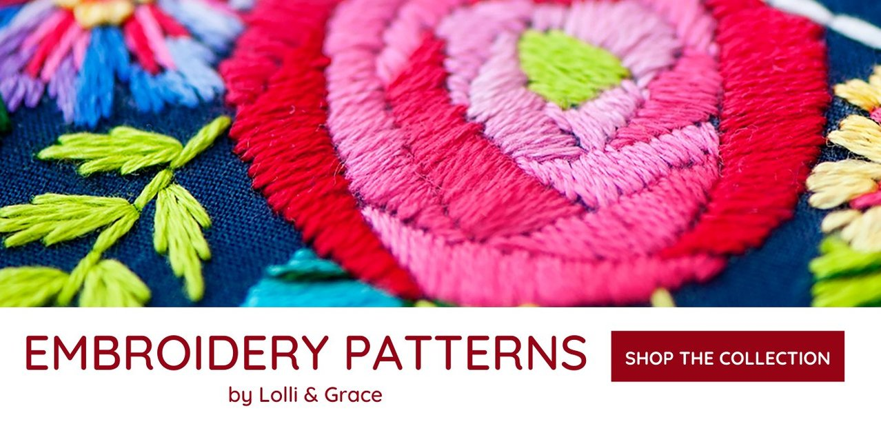 Lolli and Grace Embroidery Patterns