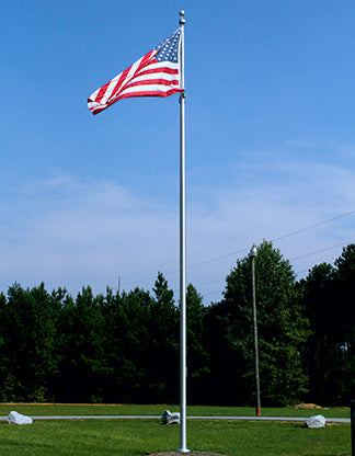 Commercial Flag pole at Ice House