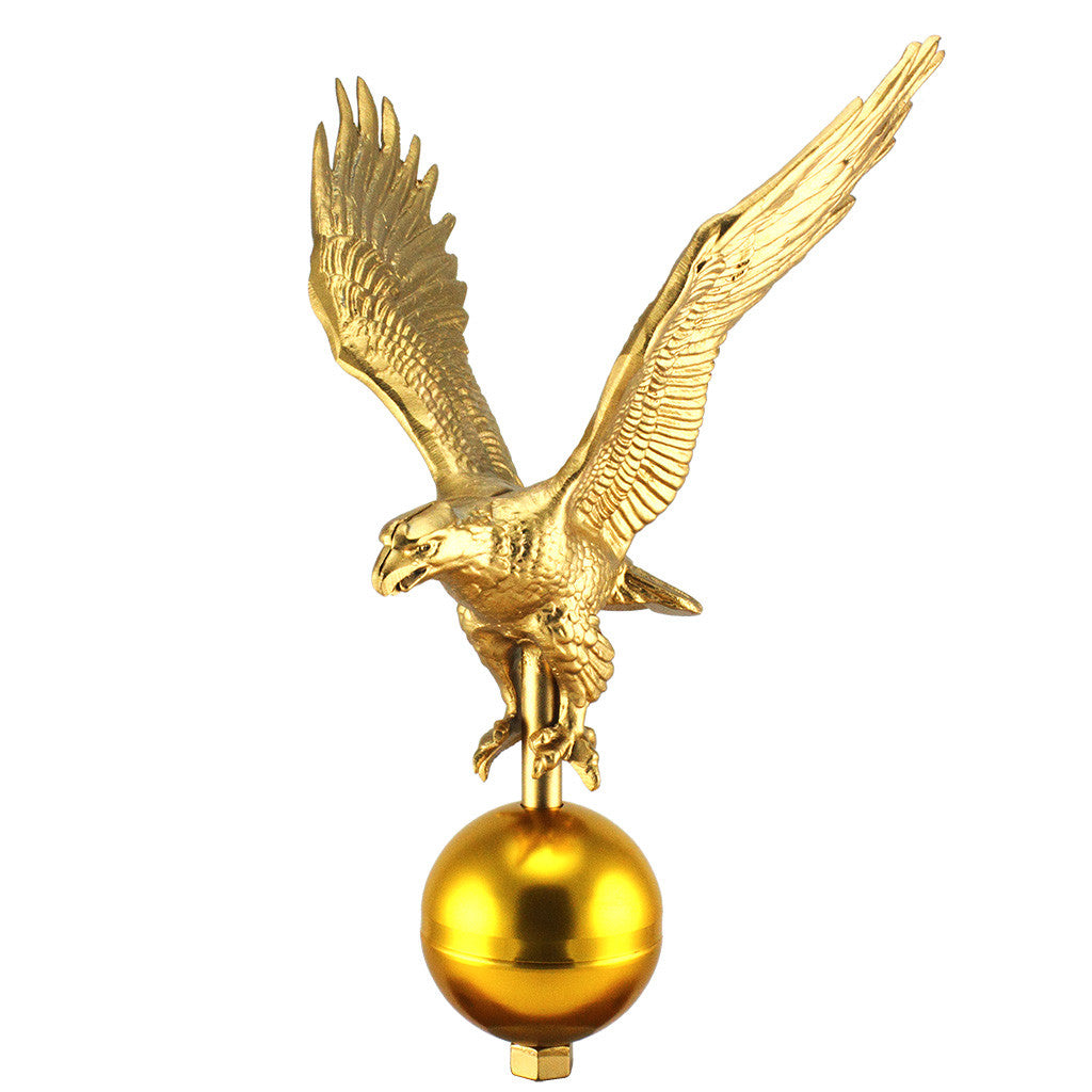 Gold Eagle Ornament