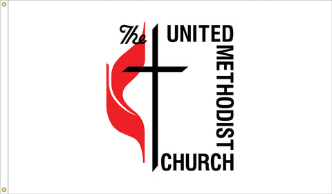 United Methodist Nylon Flag