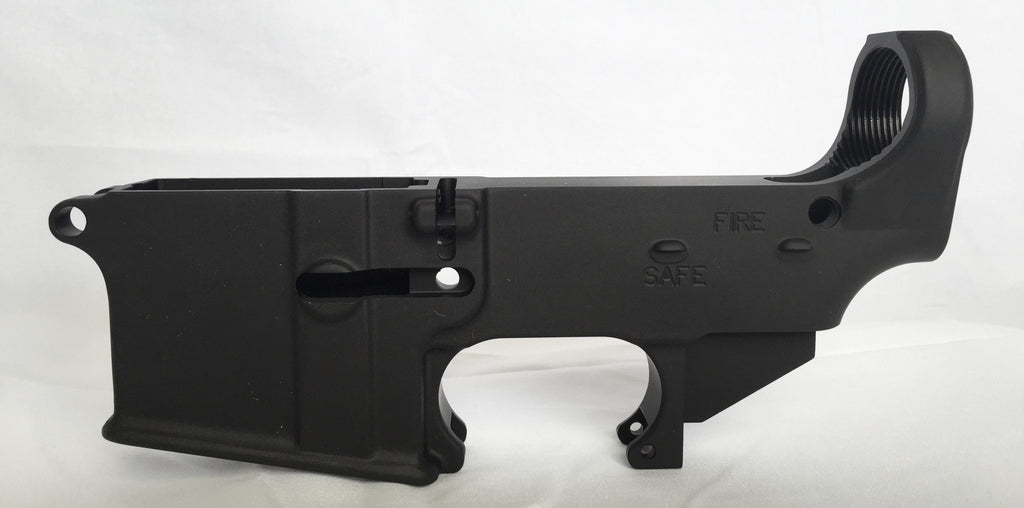 Wood AR-15 Build: The Lower