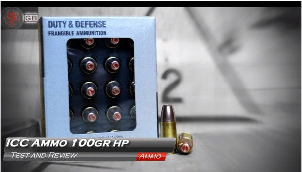 ICC Frangible Hollow Point 9mm Ammo Getting Some Love