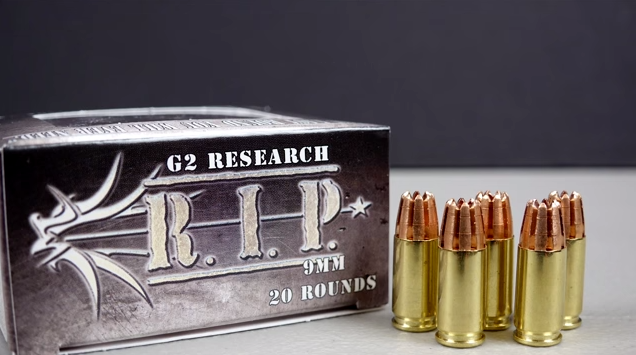 TNOutdoors9 Tests G2 Research R.I.P. Ammo