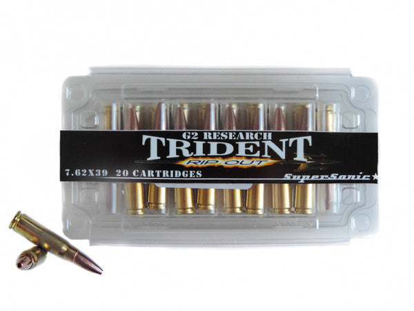 G2 Research Trident 7.62x39 Ammo Review