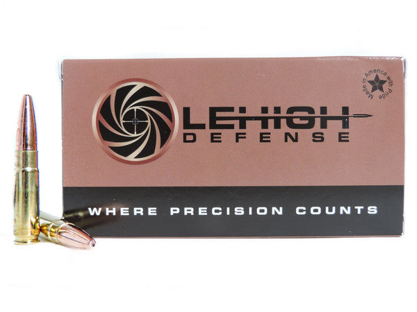 Lehigh Defense Rifle Ammo Review