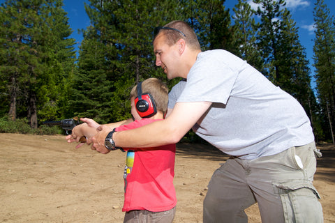 Teaching a non-shooter about guns