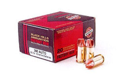 Black Hills .380 Auto Xtreme Defense Ammo