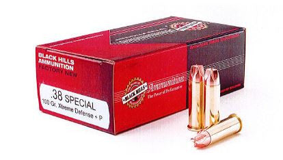 Black Hills .38 SPL Xtreme Defense Ammo