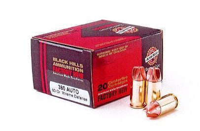 Black Hills Xtreme Defense Ammo