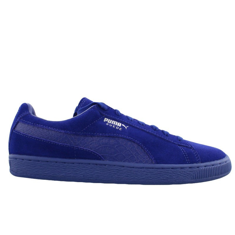 PUMA SUEDE MONO REPTILE ROYAL - 8 One Sneaker House  - 1