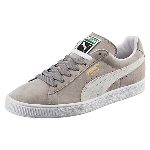 Suede Classic + GREY/ WHITE