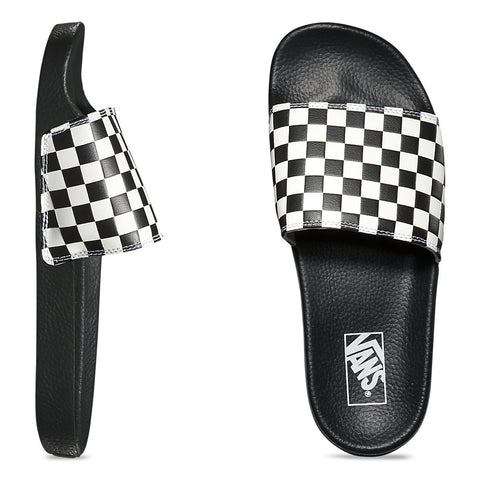 Men's Slide On Checkerboard