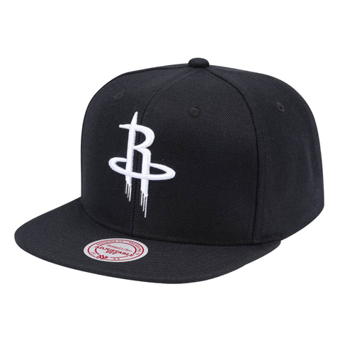 Wool B/W Snapback Houston Rockets