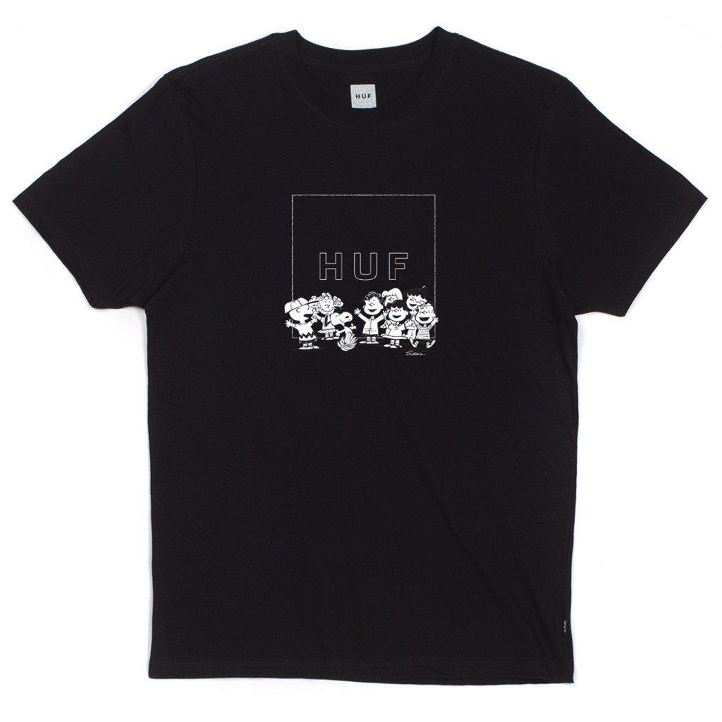 Huf Peanuts Gang Box Logo Tee - 8 One Sneaker House