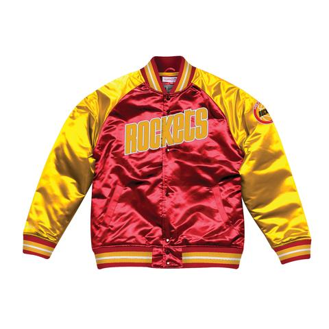 Houston Rockets Tough Season Satin Jacket