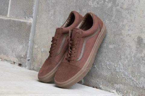 Old Skool Suede Canvas Earth Gum