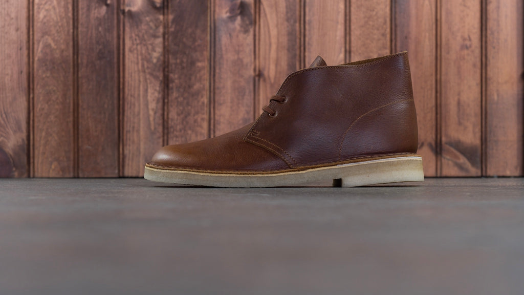 Desert Boot Tan Tumbled Leather
