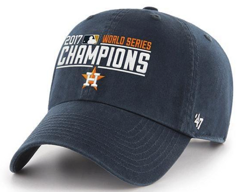 Houston Astros World Series Champs 47 Clean Up