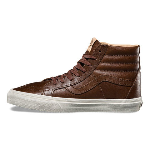 Sk8-Hi Reissue Lux Leather Shaved Chocolate