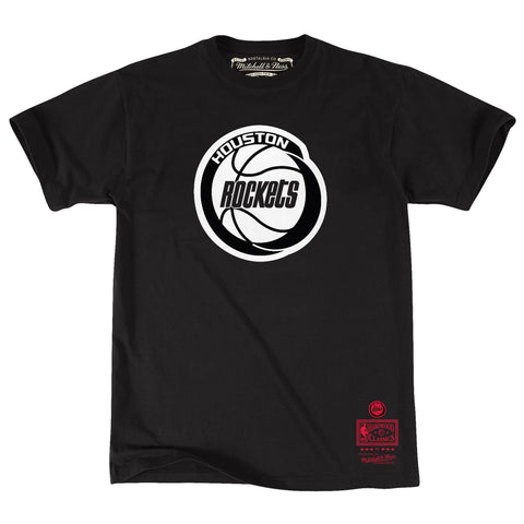 Black/White Tee Houston Rockets