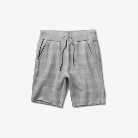 Diamond Supply Co EMERALD PLAID SWEATSHORTS