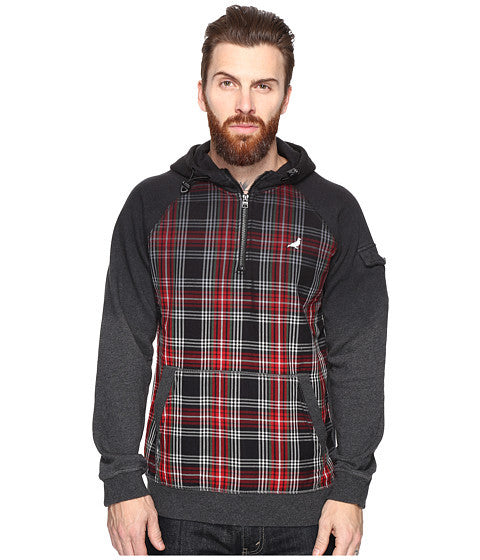 Staple Flannel Dip Hoodie - 8 One Sneaker House  - 1