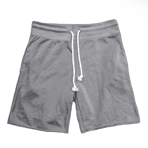 Raw Cut French Terry Short Grey