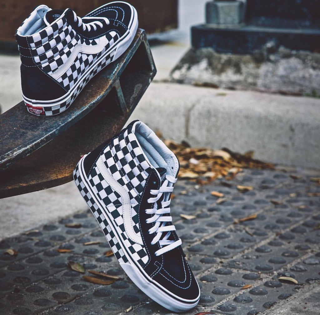 Sk8-Hi Re-Issue Checkerboard