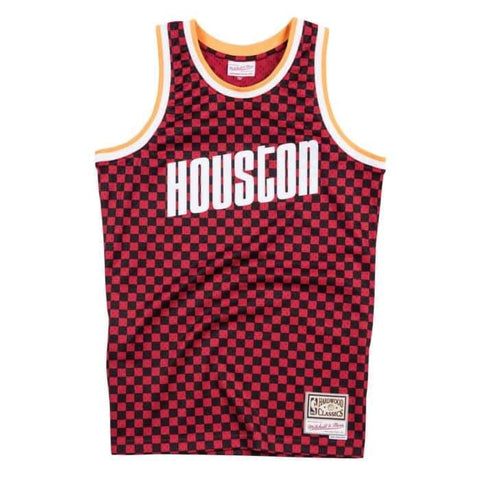 Checkered Swingman Jersey Rockets