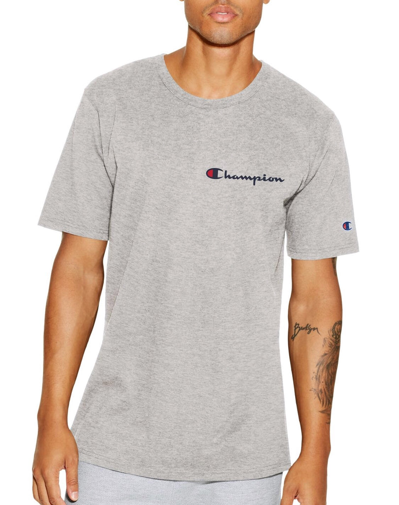 Champion Life Tee, Embroidered Script Logo