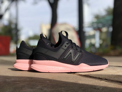 Women's 247 Black with Himalayan Pink