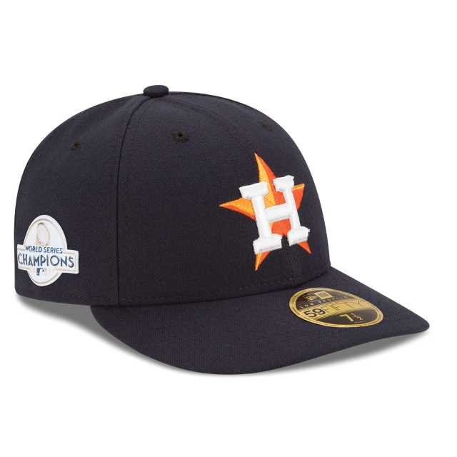 Houston Astros World Series Champs Low profile 59Fifty Fitted