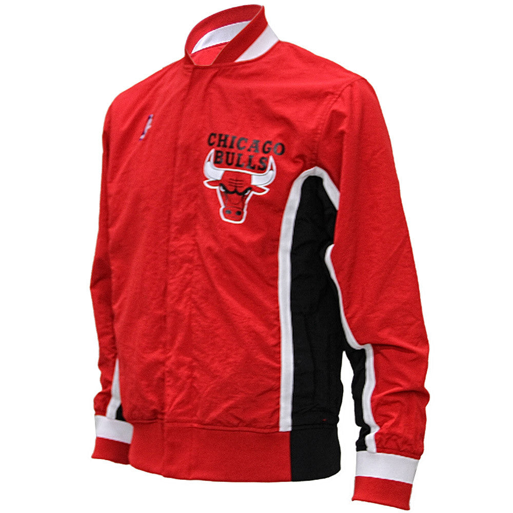 Mitchell & Ness Chicago Bulls Hardwood Classics Authentic Vintage Warm-Up Jacket - 8 One Sneaker House  - 1