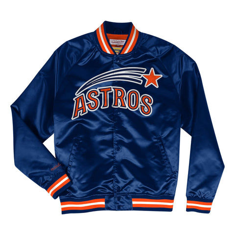 Lightweight Satin Jacket Houston Astros