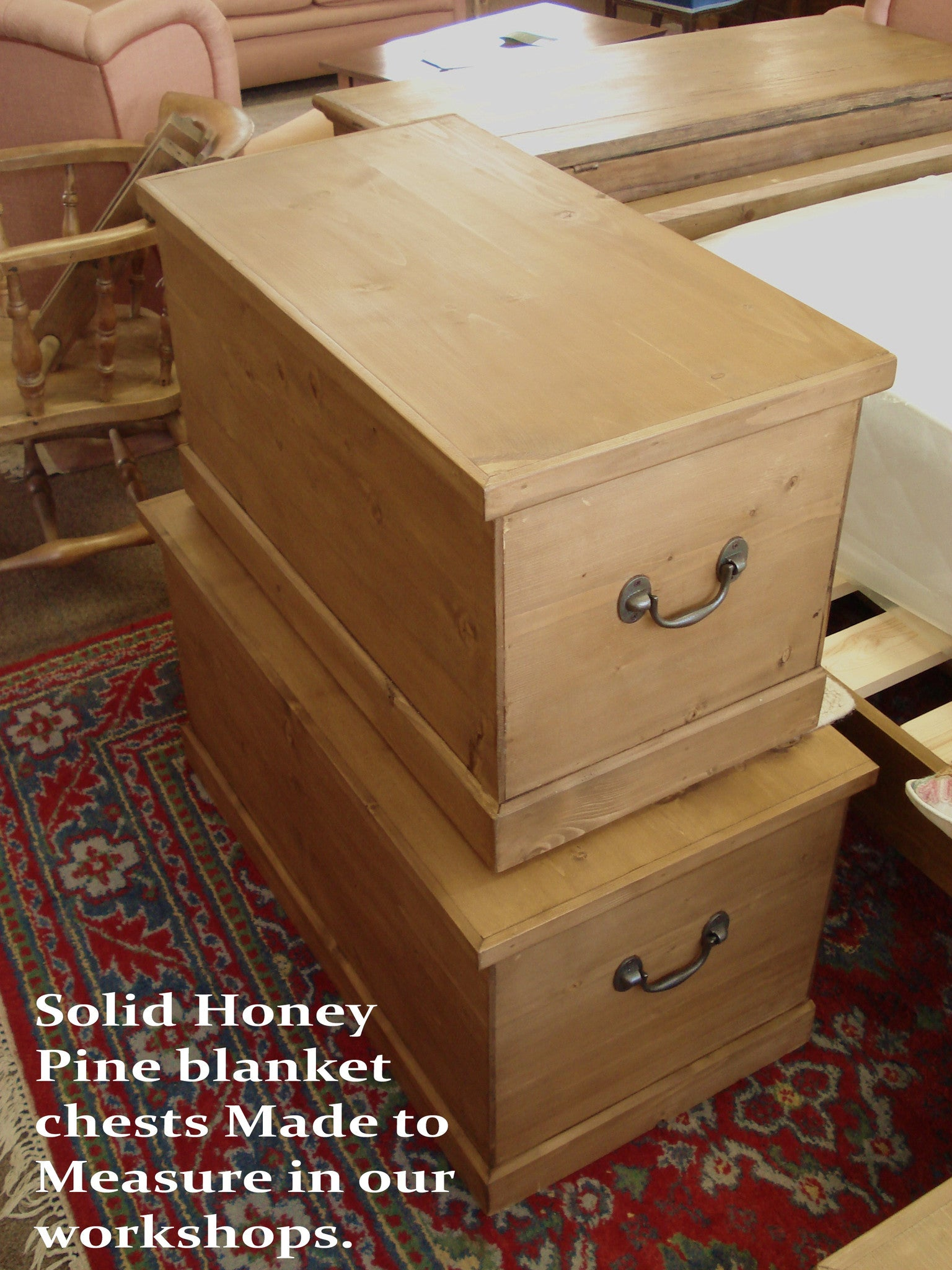 Honey Pine Blanket Chests Coppice Old Pine