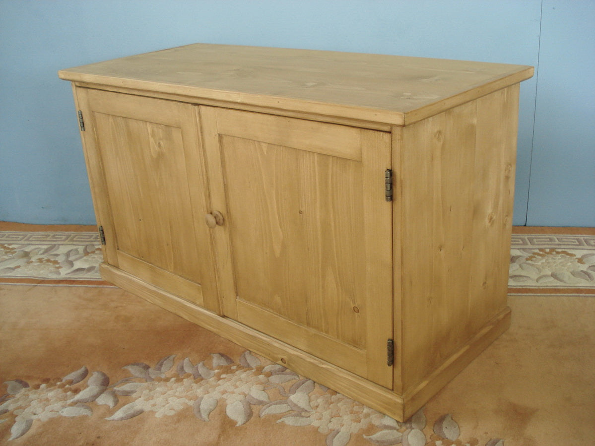 Honey pine tv unit
